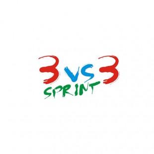 3 vs 3 sprint