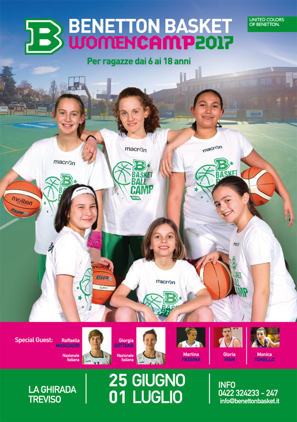 Benetton Basketball Women Camp 2017