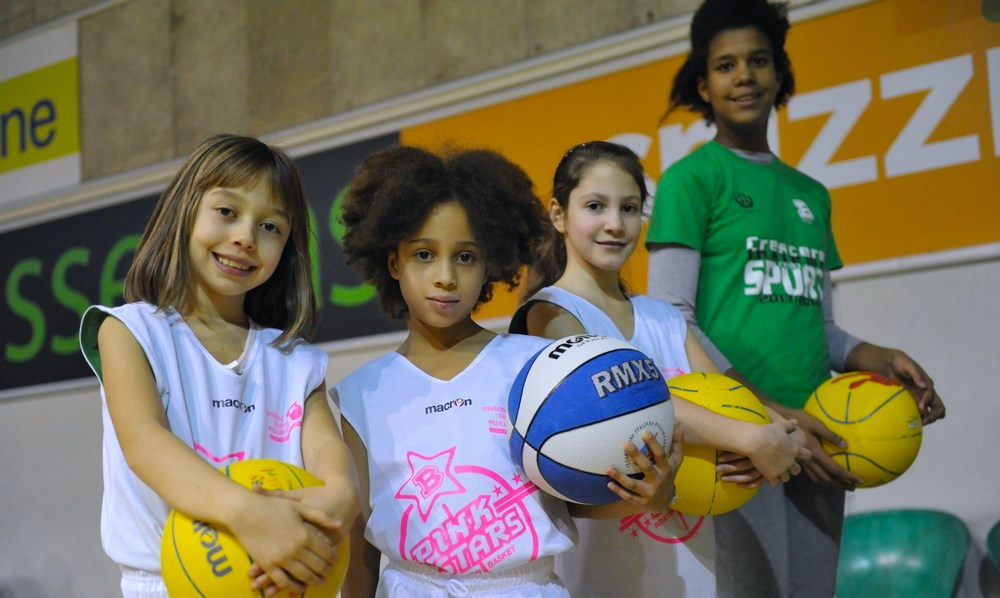 benetton basket pink star