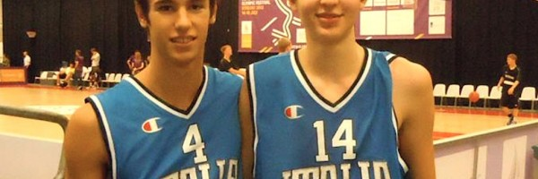 Barbon e Lovisotto agli europei under 16 in Lettonia