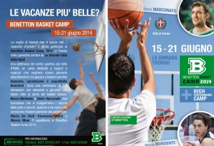 Benetton Basketball Camp 2014
