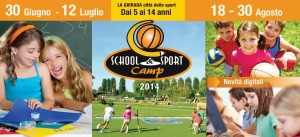 School and sport camp 2014