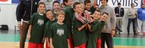 premiazioni basketball kids tournament 2014