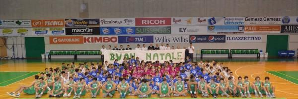 Festa di natale Benetton Basket