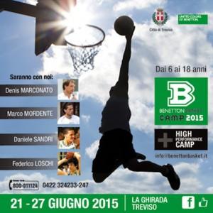 Benetton Basketball Camp 2015