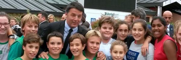 Alla Ghirada a sorpresa il premier Matteo Renzi