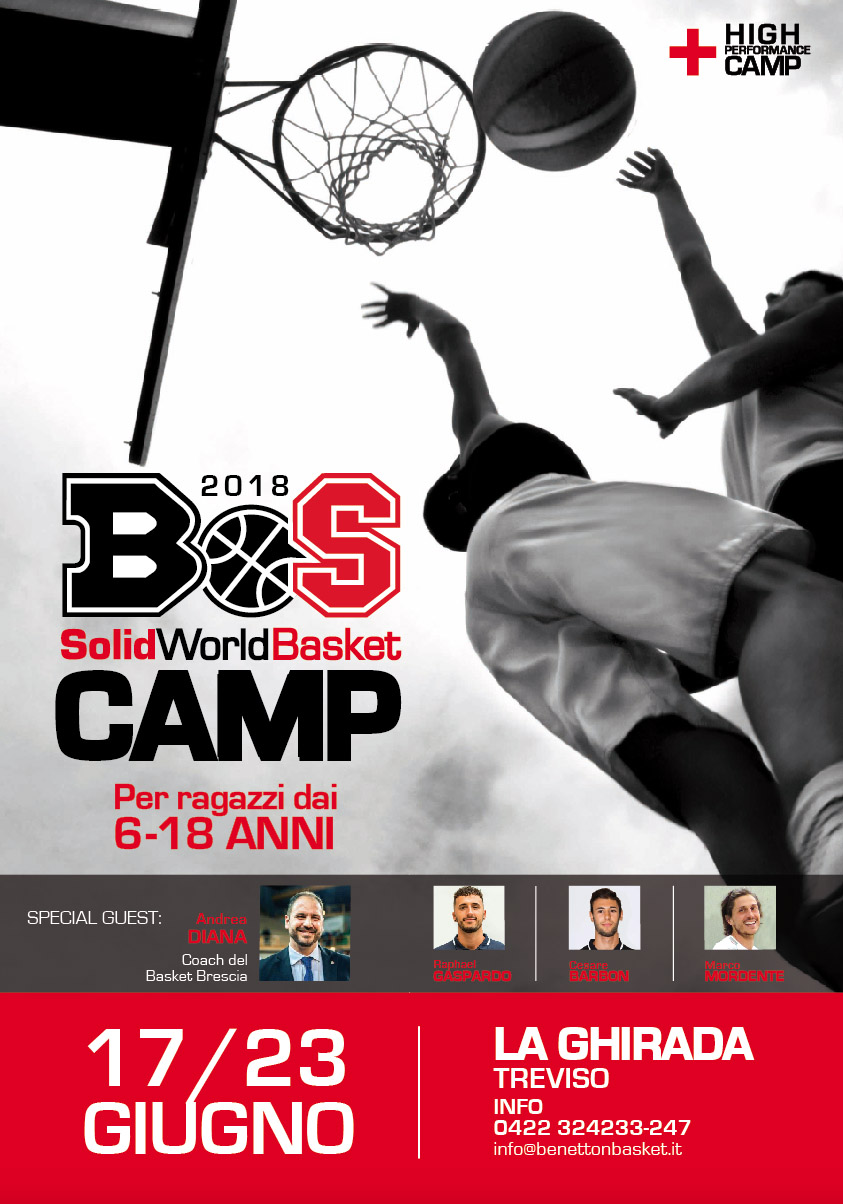 Solid World Basket Camp 2018