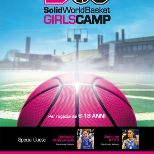 Solid World Basket Girls Camp 2019